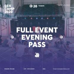 FULL EVENT EVENING PASS